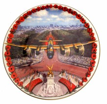 Poppy Plate Poppies Over The Mall Lest We Forget Collector Plate  - $36.62