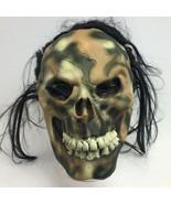 Zombie Mask Ghoul Hair 2006 Cosplay Skeleton Halloween Paper Magic Group  - $9.99