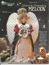 Melody Heavenly Messenger Angel Plastic Canvas Pattern - $5.00