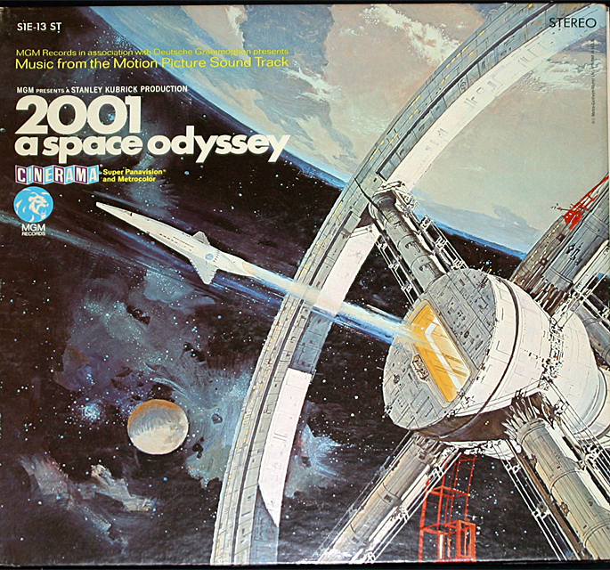 2001 a space odyssey  cover