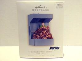 2008 Hallmark Keepsake Star Trek The Trouble With Tribbles Christmas Ora... - $32.99