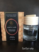 New Essenza Natural Wood Cap Diffuser Pure Essential Oils Grapefruit Van... - €16,21 EUR
