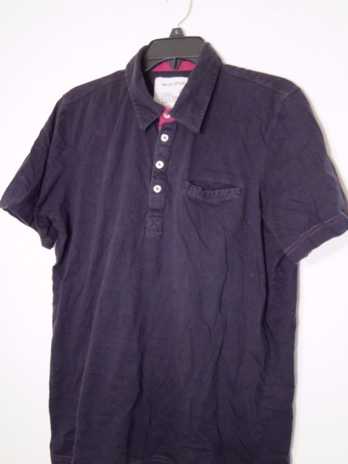 6e506e28ae8 Quiksilver Men s Size M Black S S Polo Shirt and 50 similar items