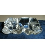 "crystal Laying dog paper weight 4.5"" x 2"" - $14.00"