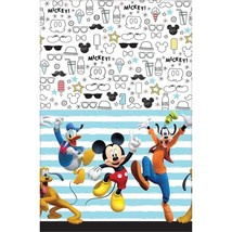 Mickey Mouse On The Go Plastic Table Cover Birthday Party Supplies 1 Ct - $8.86