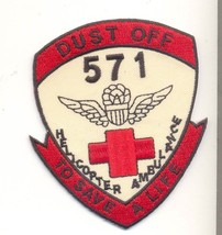 Us Army 571ST Dust Off Patch - $11.87