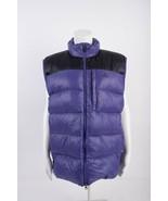 Nike ACG Womens Goose Down Puffer Vest Jacket L Large Purple Black Sleev... - $55.43