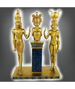 HAUNTED ANTIQUE ALTER ALL THE ANCIENT GOLDEN KINGS AND QUEENS MAGICK MYS... - $557.77