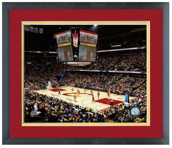 "Quicken Loans Arena 2013-2014 Cleveland Cavaliers -11 ""x"