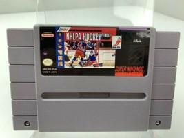 NHLPA Hockey 93 (Super Nintendo Entertainment System, 1992) Video Game SNES - $2.96