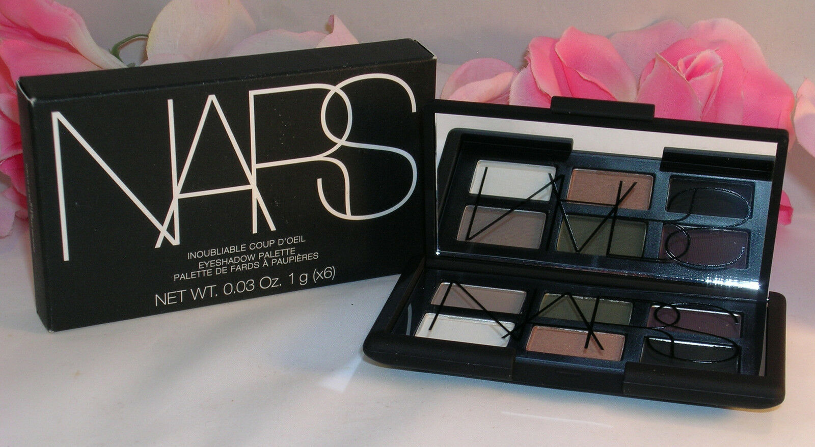 Primary image for New NARS Eye Shadow Palette #8316 Inoubliable Coup D'Oeil 6 Shades Shimmer Matte