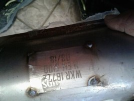 Catalytic Converter- one side Converter Walker 16772 sold as pictured  image 2