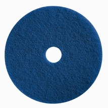"17"" Blue Flooring Pad Wet scrubbing or Heavy Duty Spray Cleaning Pad. Ca... - $43.90"