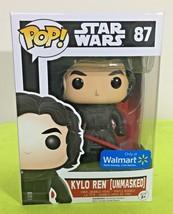 Funko POP Star Wars Kylo Ren Unmasked Vinyl Figure Exclusive - $13.85
