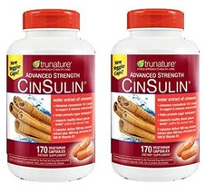 TruNature Advanced Strength CinSulin with Cinnamon Concentrate and Chrom... - $54.07