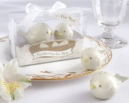 Feathering The Nest Ceramic Birds Salt & Pepper Shakers -48 Count - $153.72