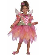 Rubies Deluxe Pink Pixie Girl's Costume w/Tutu Dress, Headpiece, Wings 8... - $28.99