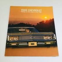1969 Chevrolet Caprice Dealership Car Auto Brochure Catalog - $7.09