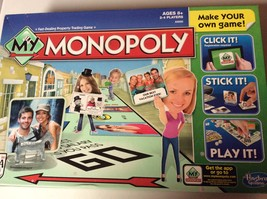 Mixed Lot of Hasbro  My Monopoly New Game Pieces,Board, etc. - $10.00