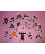 Huge Naruto 2002 Action Figure Mattel Ino Choji Sakura Sasuke 15 Pc Lot - $110.00