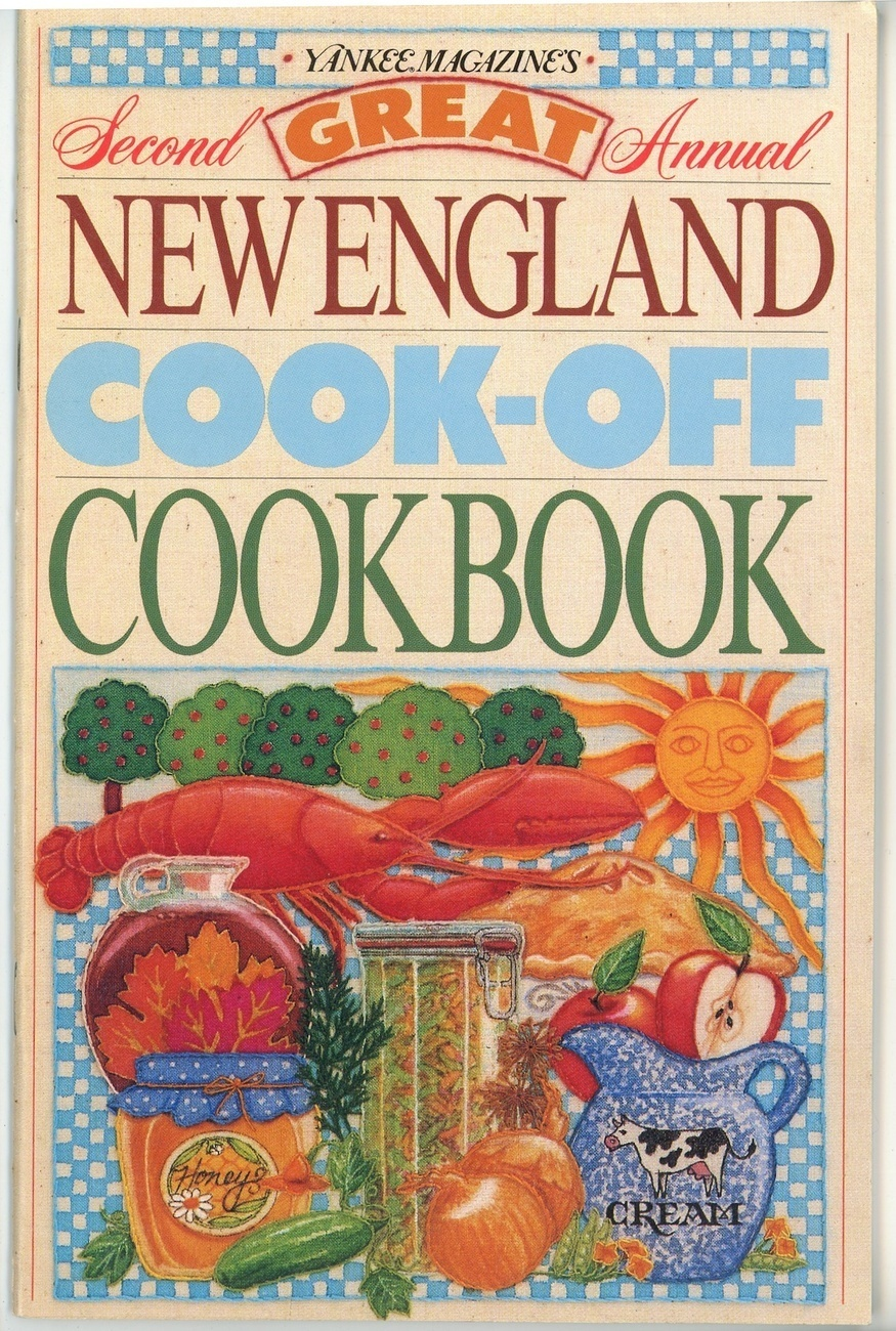 Yankee Magazines Second Great Annual New England Cook Off Cookbook 1988