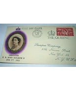 1st Day Cover-THE QUEEN CORONATION QUEEN ELIZABETH - $25.00
