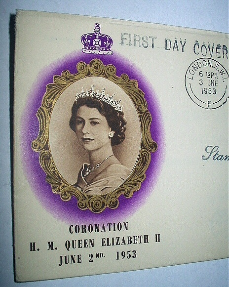 1st Day Cover-THE QUEEN CORONATION QUEEN ELIZABETH