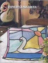 RARE~Stained Glass Swan Afghan Crochet Pattern~Annie's Quilt & Afghan Club - $24.99