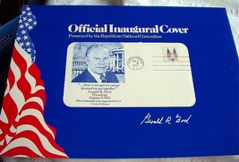 1974 OFFICIAL LIMITED EDITION INAUGURAL COVER-GERALD FORD - $58.00