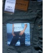 JONES SPORT NY 5 pocket JEANS SIZE 6 INSEAM 31 -BRAND NEW never worn-sil... - $15.00