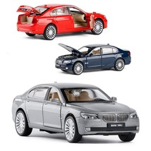 BMW 760Li 1:32 Alloy Metal Model Diecast Collectible Car Toy Red/Blue/Si... - $29.99