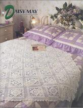 Daisy May Afghan Crochet Pattern~Annie's Quilt & Afghan Club  - $16.99