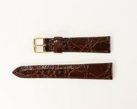 Men's 19mm Hadley Roma Genuine Crocodile Watch Band - $99.95