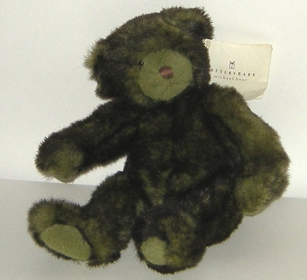 1/2 off! Pottery Barn Tie Dye Olive Green Michael Bear NWT