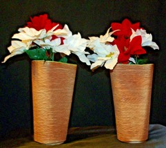 Shawnee USA 879 Floral Vases Pair  AA-191965  Collectible image 2