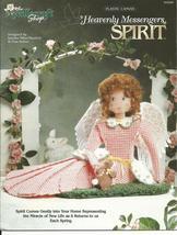 Spirit Heavenly Messenger Angel Plastic Canvas Pattern - $5.00