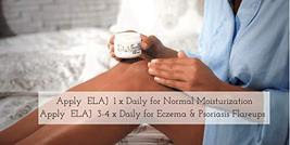 Elaj Face and Body Emollient Lotion Cream for Eczema Psoriasis Rosacea Coldsores image 6