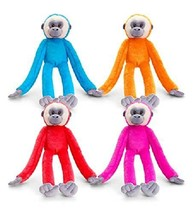 Keel Toys Deluxe 65cm Colourful Hanging Monkeys with Velcro Hands - $8.99