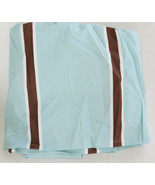 Restoration Hardware Baby & Child Italian Rugby Stripe Crib Skirt New - $28.13