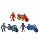 NEW Marvel Figures and Motorcycles, 3-pack  **FREE SHIPPING** - $29.49