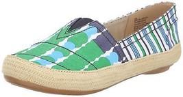 Nine West Women's Gilboy Fabric Flat, Green/Blue, 10.5 M US - €34,41 EUR