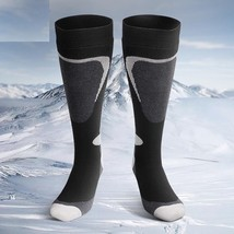 Winter Thermal Mens Socks Heated Soft Thick Outdoor Snowboard Skiing Ove... - $19.01