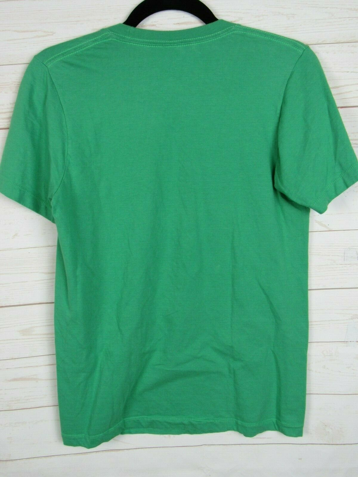 DC Comics Original Unisex Short Sleeve Green w/Green Lantern Logo Size S W1022