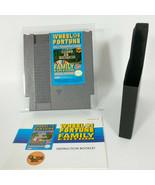 Wheel Of Fortune Family Edition - Nintendo NES - Complete In Box CIB - A... - $19.37