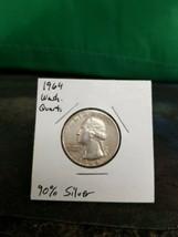 1964 Washington Quarter 90% Silver!!! LOOK!!!  - $4.21