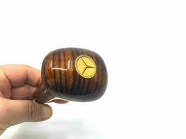 GEAR SHIFT KNOB GOLD GOLDEN ZEBRANO AUTOMATIC FOR MERCEDES-BENZ W123 197... - $74.71
