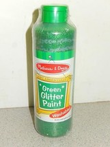 NEW MELISSA & DOUG- 4214- GREEN GLITTER POSTER PAINT - $4.30