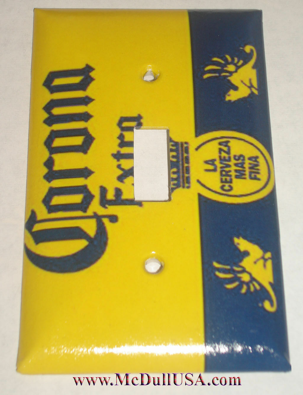 Corona Extra La Cerveza FINA Light Switch Power Outlet wall Cover Plate Decor