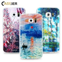 CASEIER® Monet's Painting Phone Case Samsung S6 S7 Edge S8 Plus Note8 - $3.60+