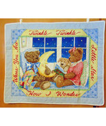 Twinkle, Twinkle Little Star Bear Quilt for Baby, Child's Wall Hanging Q... - $42.00